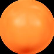 Swarovski Crystal Pearl 5817 - 10mm, Crystal Neon Orange Pearl (001 733), 250pcs