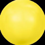 Swarovski Crystal Pearl 5817 - 16mm, Crystal Neon Yellow Pearl (001 734), 100pcs