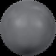 Swarovski Crystal Pearl 5818 - 10mm, Crystal Dark Grey Pearl (001 617), 100pcs
