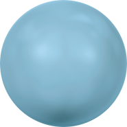 Swarovski Crystal Pearl 5818 - 10mm, Crystal Turquoise Pearl (001 709), 100pcs