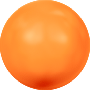 Swarovski Crystal Pearl 5818 - 10mm, Crystal Neon Orange Pearl (001 733), 100pcs