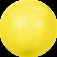 Swarovski Crystal Pearl 5818 - 10mm, Crystal Neon Yellow Pearl (001 734), 100pcs