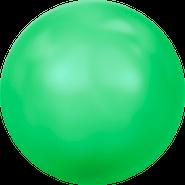 Swarovski Crystal Pearl 5818 - 10mm, Crystal Neon Green Pearl (001 771), 100pcs