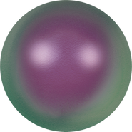 Swarovski Crystal Pearl 5818 - 10mm, Crystal Iridescent Purple Pearl (001 943), 100pcs