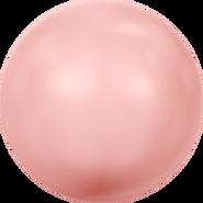 Swarovski Crystal Pearl 5818 - 12mm, Crystal Pink Coral Pearl (001 716), 100pcs