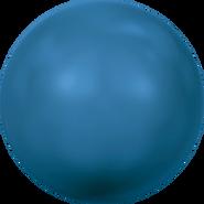 Swarovski Crystal Pearl 5818 - 12mm, Crystal Lapis Pearl (001 717), 100pcs