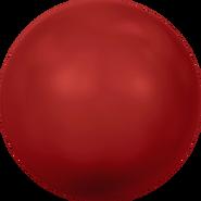 Swarovski Crystal Pearl 5818 - 12mm, Crystal Red Coral Pearl (001 718), 100pcs
