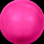 Swarovski Crystal Pearl 5818 - 12mm, Crystal Neon Pink Pearl (001 732), 100pcs