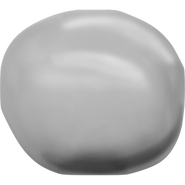 Swarovski Crystal Pearl 5840 - 10mm, Crystal Grey Pearl (001 731), 100pcs