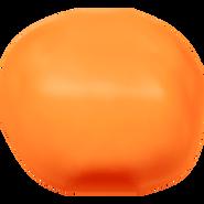 Swarovski Crystal Pearl 5840 - 10mm, Crystal Neon Orange Pearl (001 733), 100pcs