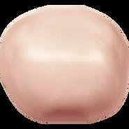 Swarovski Crystal Pearl 5840 - 10mm, Crystal Rose Gold Pearl (001 769), 100pcs