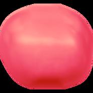 Swarovski Crystal Pearl 5840 - 6mm, Crystal Neon Red Pearl (001 770), 500pcs