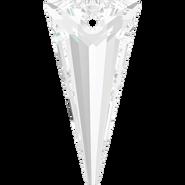 Swarovski Pendant 6480 - 18mm, Crystal (001), 48pcs