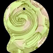 Swarovski Pendant 6731 - 14mm, Crystal Luminous Green (001 LUMG), 36pcs