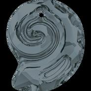 Swarovski Pendant 6731 - 14mm, Crystal Silver Night (001 SINI), 36pcs