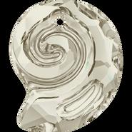 Swarovski Pendant 6731 - 28mm, Crystal Silver Shade (001 SSHA), 8pcs