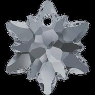 Swarovski Pendant 6748 - 18mm, Crystal Silver Night (001 SINI), 48pcs