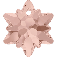 Swarovski Pendant 6748 - 18mm, Vintage Rose (319), 48pcs