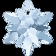 Swarovski Pendant 6748 - 28mm, Crystal Blue Shade (001 BLSH), 18pcs