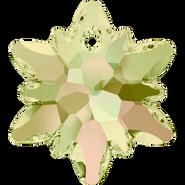 Swarovski Pendant 6748 - 28mm, Crystal Luminous Green (001 LUMG), 18pcs
