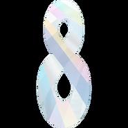 Swarovski Pendant 6792 - 18mm, Crystal Aurore Boreale (001 AB), 48pcs