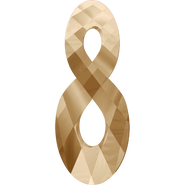 Swarovski Pendant 6792 - 18mm, Crystal Golden Shadow (001 GSHA), 48pcs