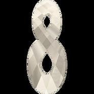 Swarovski Pendant 6792 - 18mm, Crystal Silver Shade (001 SSHA), 48pcs