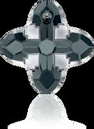 Swarovski Pendant 6868 MM 14,0 GRAPHITE LTCHROMEZ, Unfoiled, 36pcs