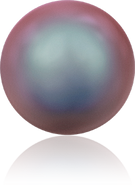 Swarovski Crystal Pearl 5810 MM 4,0 CRYSTAL IRIDESCENT RED PRL(100pcs)