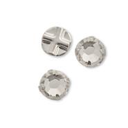 Swarovski 53102 - Roses Montees, 4mm, Crystal(24pcs)