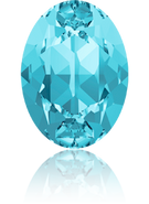 Swarovski 4120 MM 14,0X 10,0 AQUAMARINE F(144pcs)