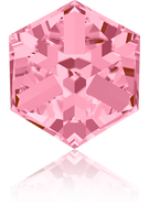 Swarovski Fancy Stone 4841 MM 6,0 LIGHT ROSE CAL'VZ'(144pcs)