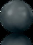 Swarovski Flat Back 2080/4 SS 34 JET HEMAT M HF(144pcs)