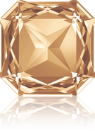 Swarovski Fancy Stone 4675 MM 23,0 CRYSTAL GOL.SHADOW F(24pcs)