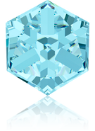 Swarovski Fancy Stone 4841 MM 8,0 AQUAMARINE CAL'VZ'(72pcs)
