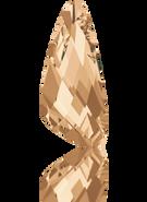 Swarovski Fancy Stone 4790 MM 18,0X 7,5 CRYSTAL GOL.SHADOW F(108pcs)