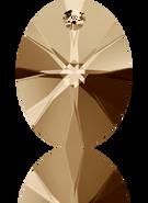 Swarovski Pendant 6028 MM 8,0 CRYSTAL GOL.SHADOW(144pcs)