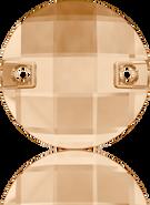 Swarovski Sew-on 3220 MM 10,0 CRYSTAL GOL.SHADOW F(192pcs)