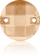 Swarovski Sew-on 3220 MM 14,0 CRYSTAL GOL.SHADOW F(96pcs)