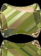 Swarovski 2540 MM 7,0X 5,5 CRYSTAL LUMINGREEN F(240pcs)