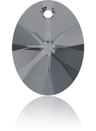 Swarovski Pendant 6028 MM 18,0 CRYSTAL SILVNIGHT(72pcs)