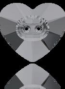 Swarovski Button 3023 MM 12,0X 10,5 CRYSTAL SILVNIGHT(144pcs)