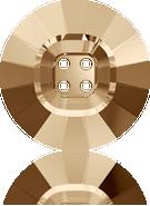 Swarovski 3018 MM 14,0 CRYSTAL GOL.SHADOW(48pcs)