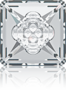 Swarovski Fancy Stone 4481 MM 16,0 CRYSTAL F(48pcs)