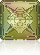 Swarovski Fancy Stone 4481 MM 12,0 CRYSTAL LUMINGREEN F(72pcs)