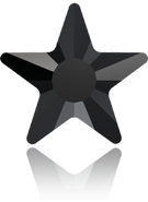 Swarovski Flat Back 2817 MM 5,0 JET M HF(720pcs)