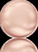 Swarovski 5860 MM 10,0 CRYSTAL ROSE GOLD PEARL(100pcs)