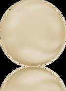 Swarovski 5860 MM 14,0 CRYSTAL LIGHT GOLD PEARL(50pcs)