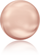Swarovski 5860 MM 14,0 CRYSTAL ROSE GOLD PEARL(50pcs)