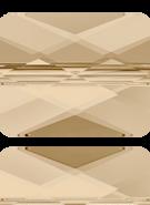 Swarovski Bead 5055 MM 10,0X 8,0 CRYSTAL GOL.SHADOW(72pcs)